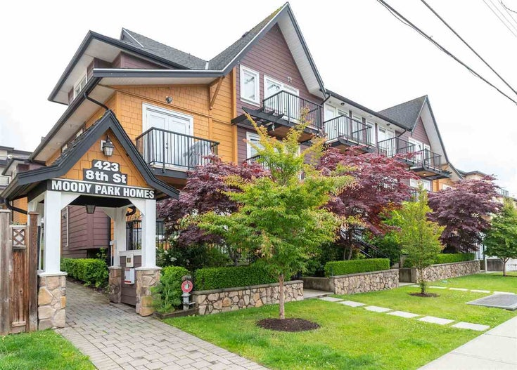 205 423 EIGHTH STREET - Uptown NW Townhouse for sale, 2 Bedrooms (R2592817)