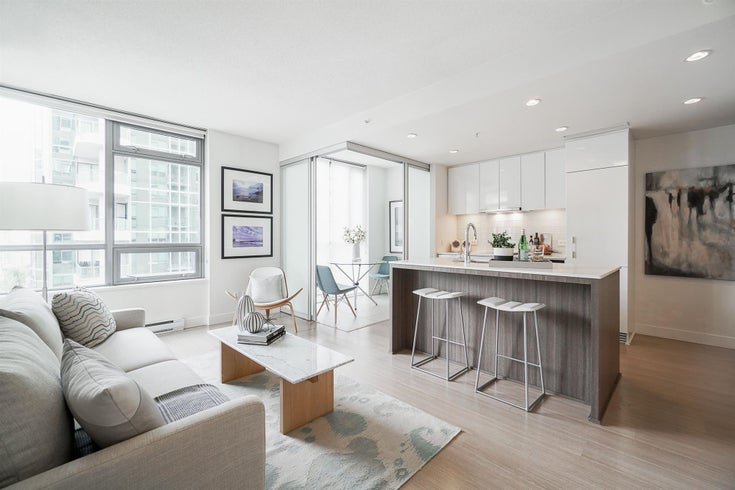 1206 1308 HORNBY STREET - Downtown VW Apartment/Condo for sale, 1 Bedroom (R2592903)