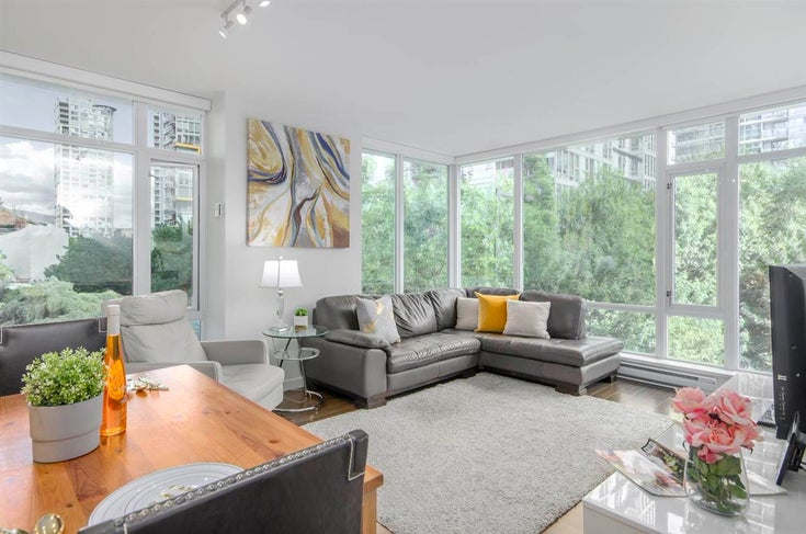 301 161 W GEORGIA STREET - Downtown VW Apartment/Condo for sale, 2 Bedrooms (R2592929)
