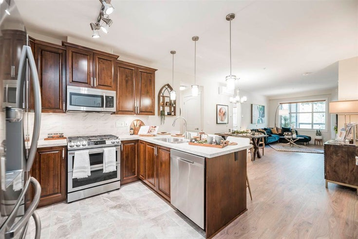 112 8558 202B STREET - Willoughby Heights Apartment/Condo for sale, 1 Bedroom (R2592955)