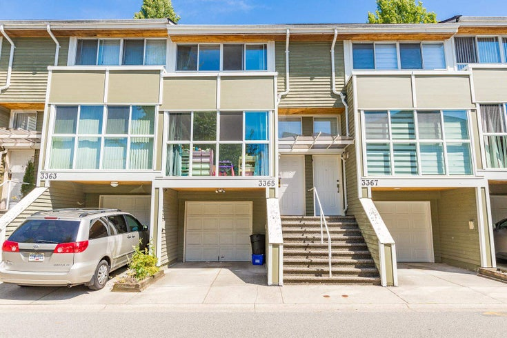 3365 FIELDSTONE AVENUE - Champlain Heights Townhouse for sale, 3 Bedrooms (R2592961)