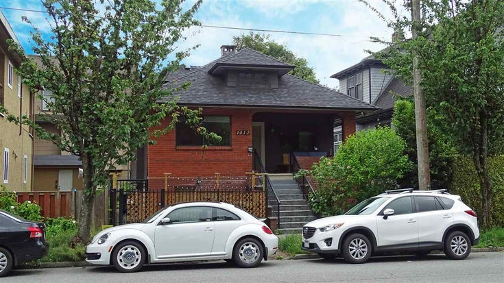 1412 VICTORIA DRIVE - Grandview Woodland House/Single Family for sale, 3 Bedrooms (R2593019)