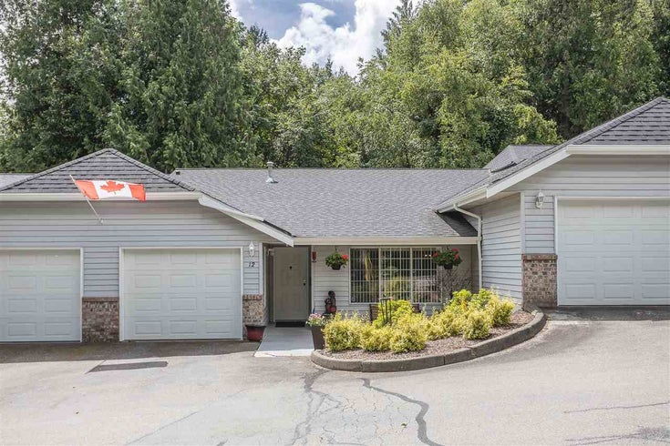 12 33020 MACLURE ROAD - Central Abbotsford Townhouse for sale, 1 Bedroom (R2593093)