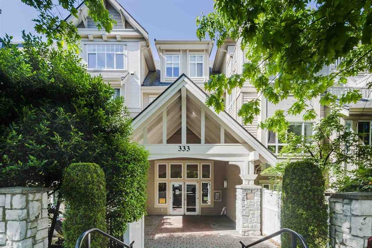 318 333 E 1ST STREET - Lower Lonsdale Apartment/Condo for sale, 1 Bedroom (R2593172)