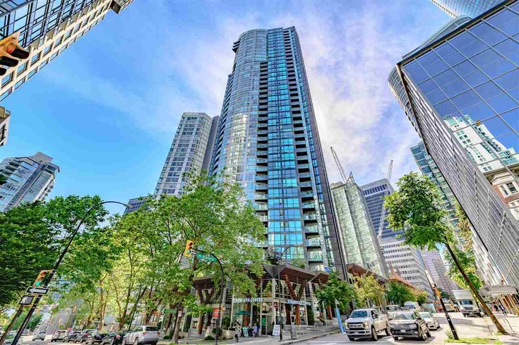 3304 1189 MELVILLE STREET - Coal Harbour Apartment/Condo for sale, 1 Bedroom (R2593173)
