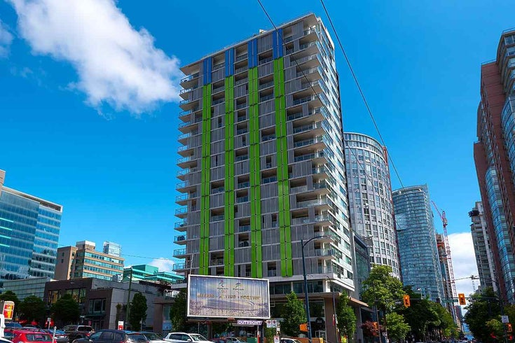 2205 999 SEYMOUR STREET - Downtown VW Apartment/Condo for sale, 1 Bedroom (R2593188)