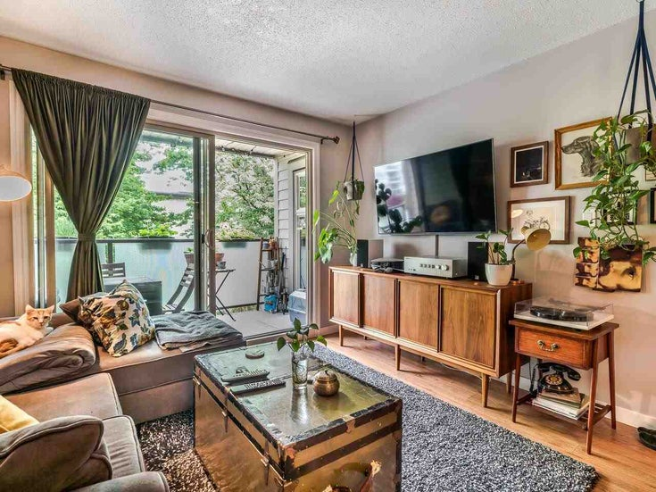 203 1864 FRANCES STREET - Hastings Apartment/Condo for sale, 1 Bedroom (R2593193)