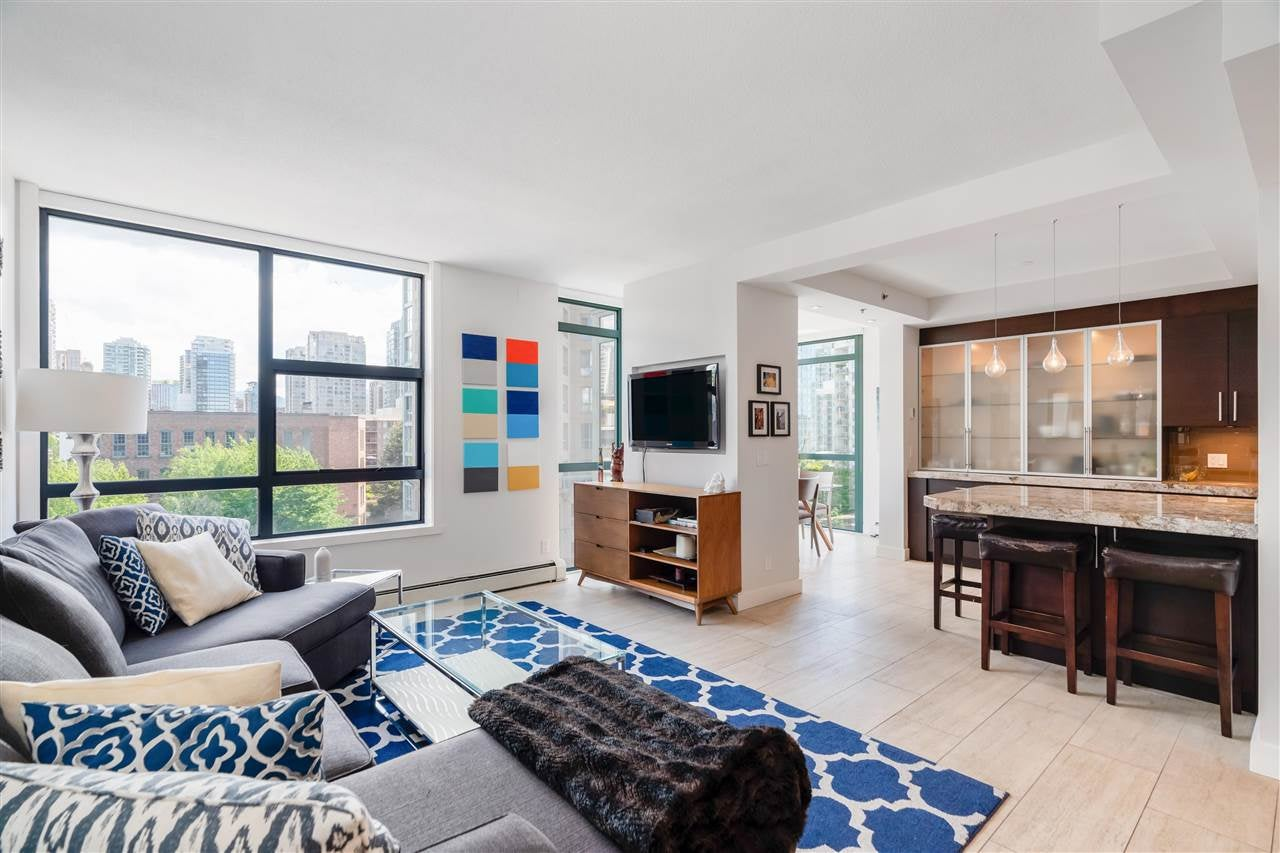 601 212 DAVIE STREET - Yaletown Apartment/Condo for sale, 2 Bedrooms (R2593217) - #1