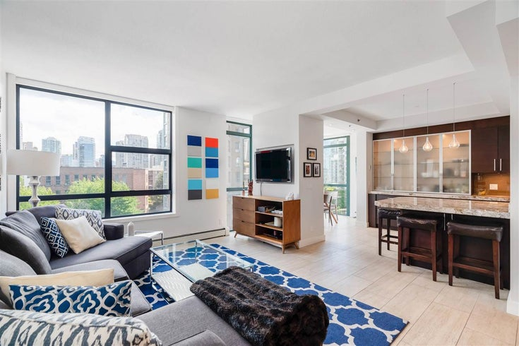 601 212 DAVIE STREET - Yaletown Apartment/Condo for sale, 2 Bedrooms (R2593217)