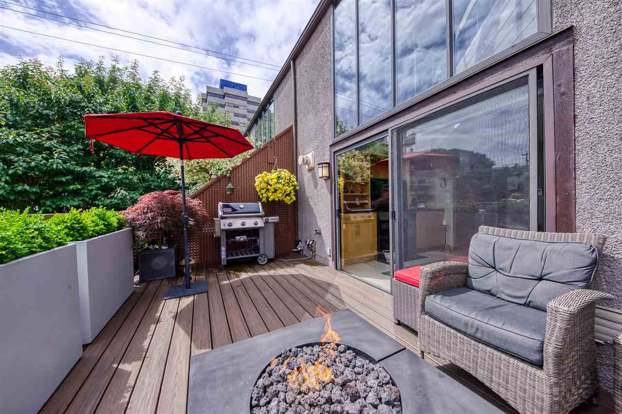1173 W 8TH AVENUE - Fairview VW Townhouse for sale, 1 Bedroom (R2593245)