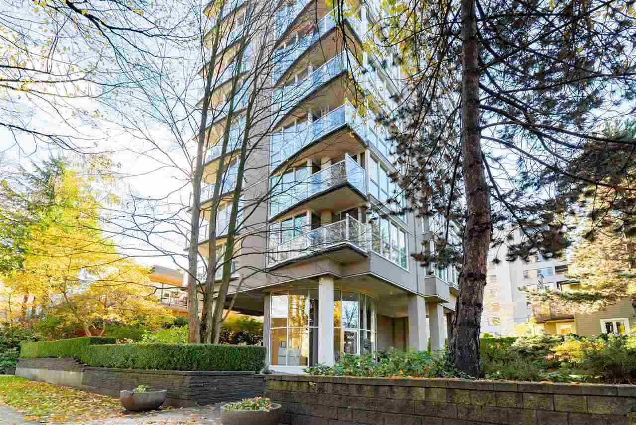 601 1686 W 13TH AVENUE - Fairview VW Apartment/Condo for sale, 2 Bedrooms (R2593407)