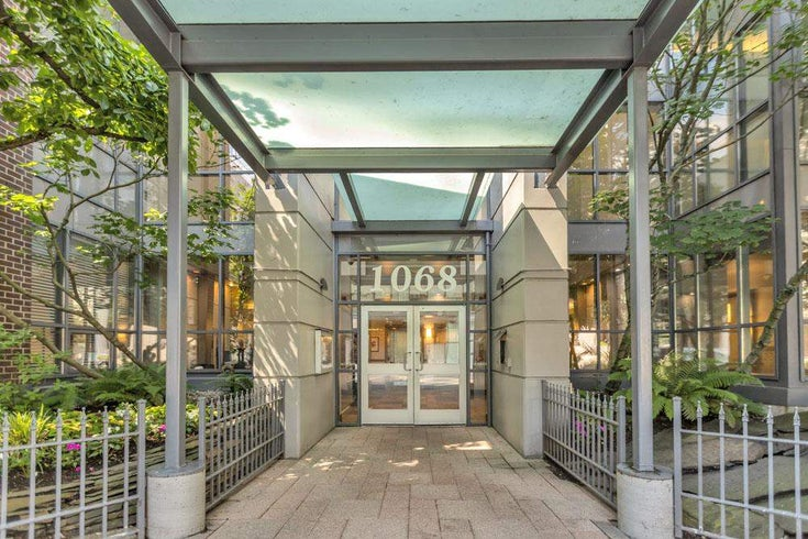 902 1068 HORNBY STREET - Downtown VW Apartment/Condo for sale, 1 Bedroom (R2593463)