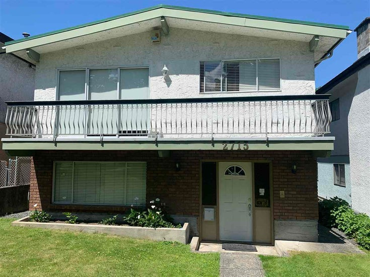 2715 CAMBRIDGE STREET - Hastings Sunrise House/Single Family for sale, 5 Bedrooms (R2593482)