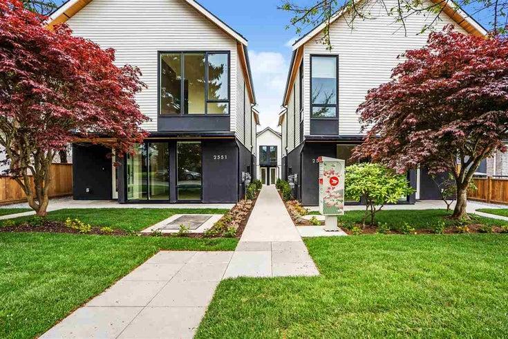 2559 E 40TH AVENUE - Collingwood VE Townhouse for sale, 3 Bedrooms (R2593503)