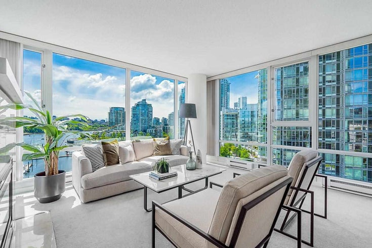 1107 1033 MARINASIDE CRESCENT - Yaletown Apartment/Condo for sale, 3 Bedrooms (R2593560)