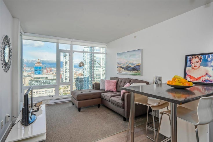 1901 161 W GEORGIA STREET - Downtown VW Apartment/Condo for sale, 1 Bedroom (R2593621)