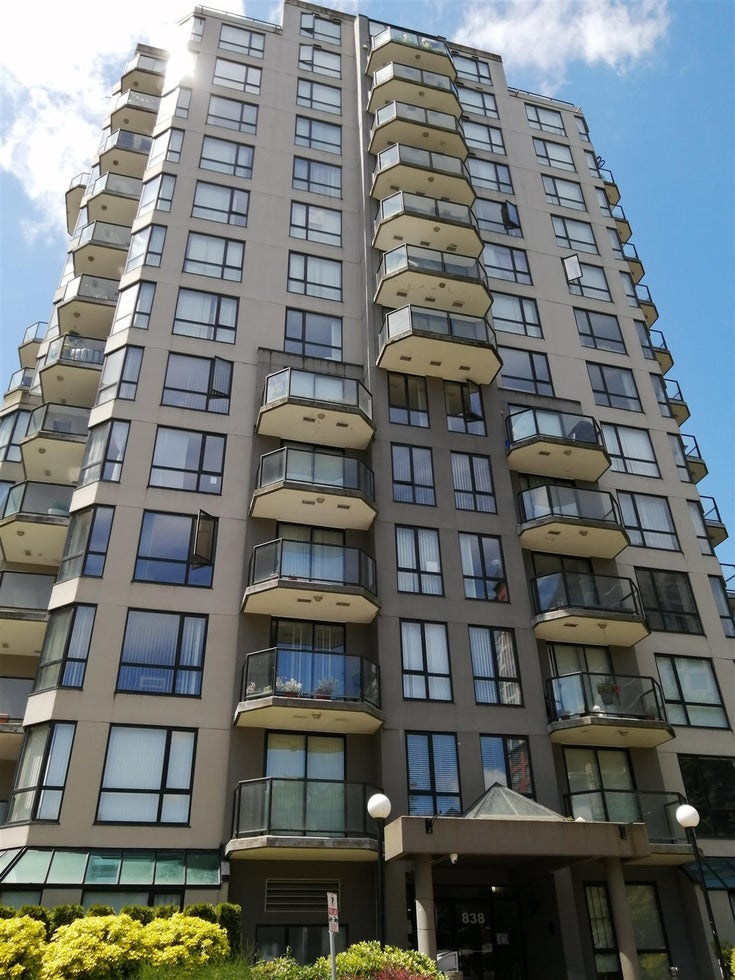 403 838 AGNES STREET - Downtown NW Apartment/Condo for sale, 1 Bedroom (R2593807)