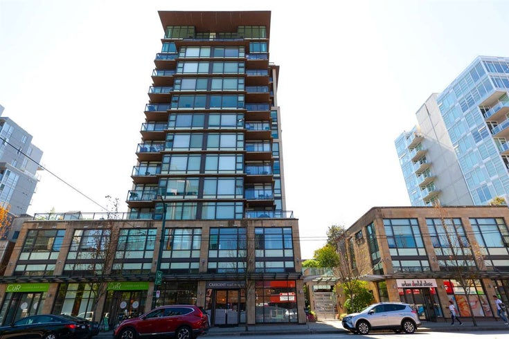 709 1068 W BROADWAY - Fairview VW Apartment/Condo for sale, 1 Bedroom (R2593847)