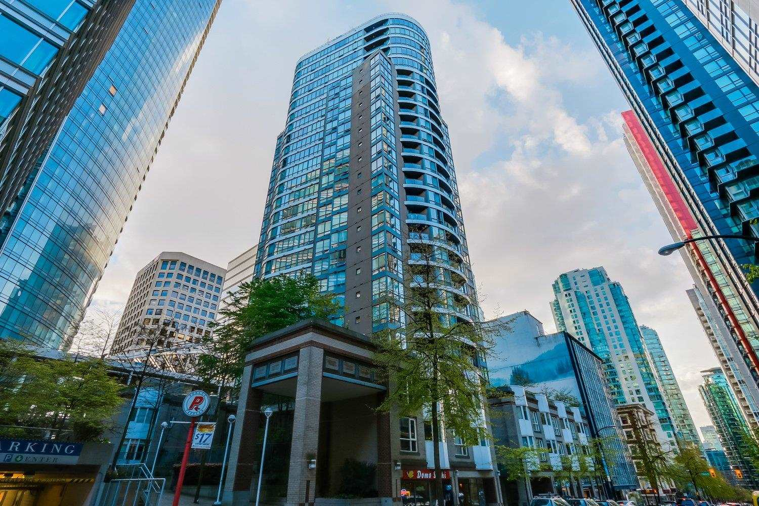 907 1166 MELVILLE STREET - Coal Harbour Apartment/Condo for sale, 1 Bedroom (R2594100) - #1