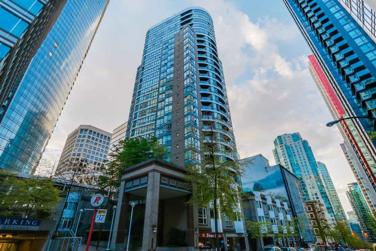 907 1166 MELVILLE STREET - Coal Harbour Apartment/Condo for sale, 1 Bedroom (R2594100)