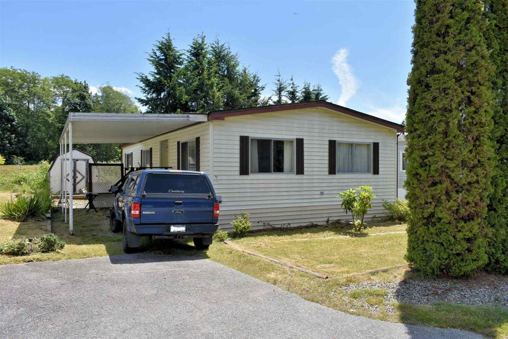 72 1413 SUNSHINE COAST HIGHWAY - Gibsons & Area Manufactured for sale, 3 Bedrooms (R2594160)