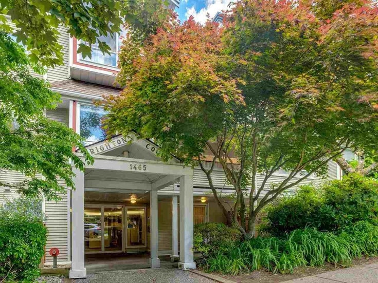 207 1465 COMOX STREET - West End VW Apartment/Condo for sale, 1 Bedroom (R2594193)