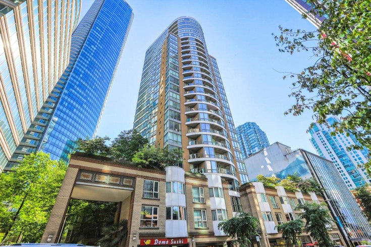 908 1166 MELVILLE STREET - Coal Harbour Apartment/Condo for sale, 1 Bedroom (R2594219)