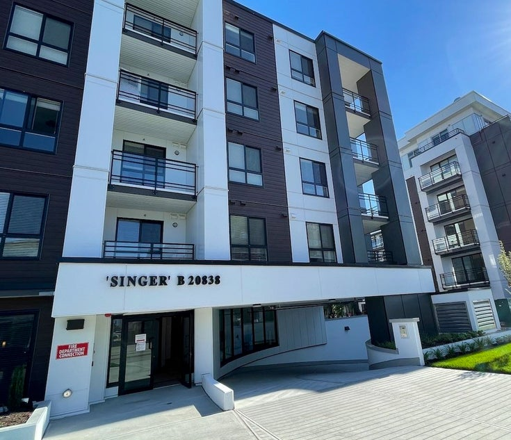 402B 20838 78B AVENUE - Willoughby Heights Apartment/Condo for sale, 1 Bedroom (R2594495)