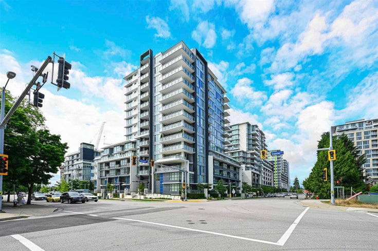 805 8677 CAPSTAN WAY - West Cambie Apartment/Condo for sale, 3 Bedrooms (R2594577)