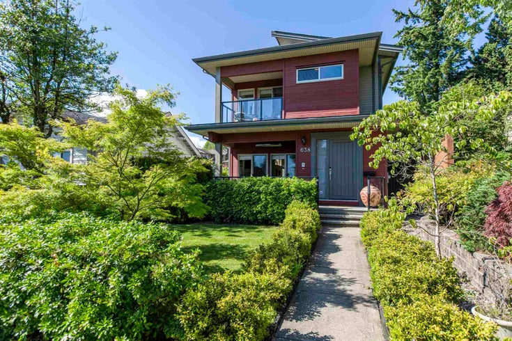 638 W 15TH STREET - Central Lonsdale 1/2 Duplex for sale, 3 Bedrooms (R2594589)