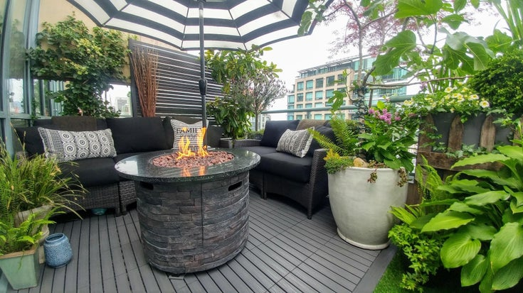 PH6 1238 BURRARD STREET - Downtown VW Apartment/Condo for sale, 1 Bedroom (R2594591)
