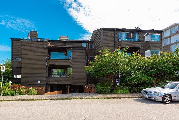 401 1340 DUCHESS AVENUE - Ambleside Apartment/Condo for sale, 3 Bedrooms (R2594864)