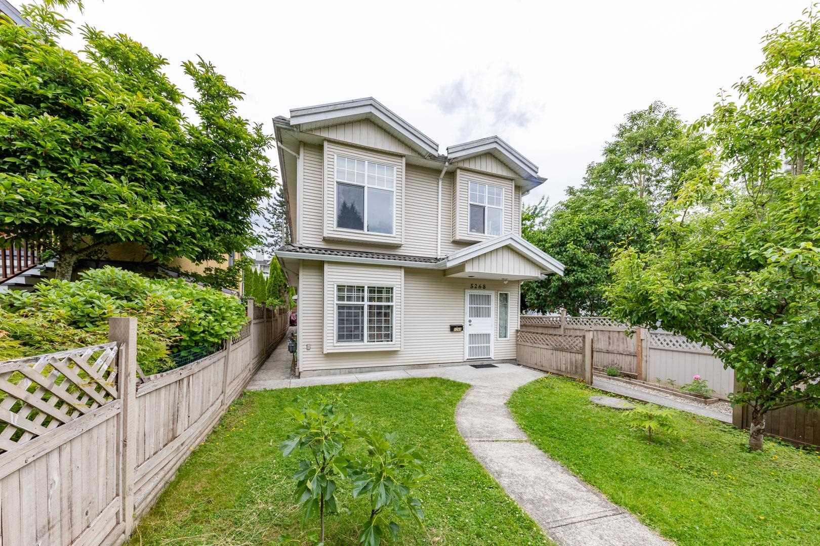 5268 HOY STREET - Collingwood VE 1/2 Duplex for sale, 4 Bedrooms (R2594942) - #1