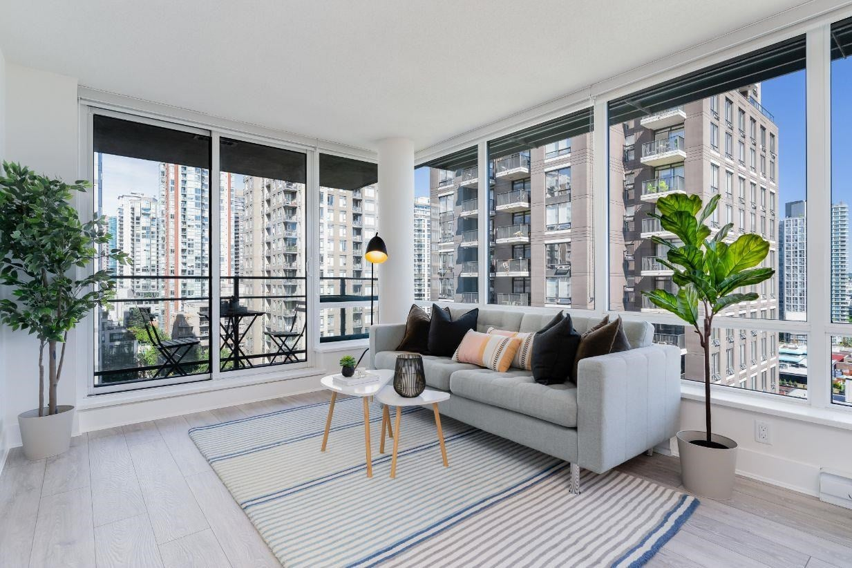 1208 1088 RICHARDS STREET - Yaletown Apartment/Condo for sale, 1 Bedroom (R2595031) - #1