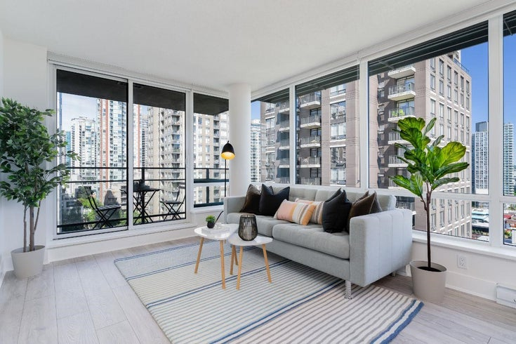 1208 1088 RICHARDS STREET - Yaletown Apartment/Condo for sale, 1 Bedroom (R2595031)