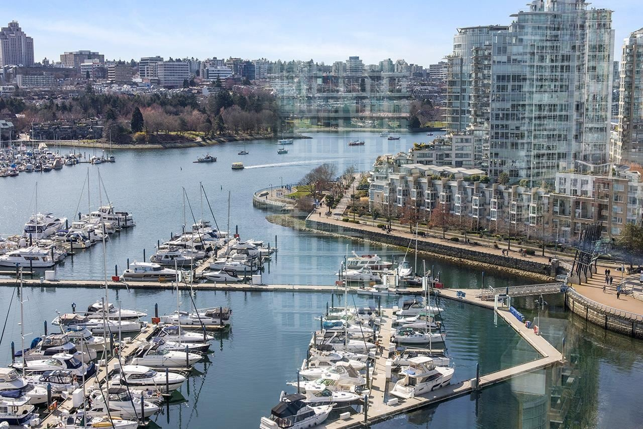 1906 1067 MARINASIDE CRESCENT - Yaletown Apartment/Condo for sale, 1 Bedroom (R2595042)