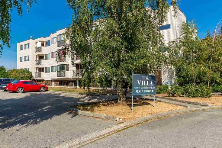 107 32733 E BROADWAY STREET - Abbotsford West Apartment/Condo for sale, 1 Bedroom (R2595160)