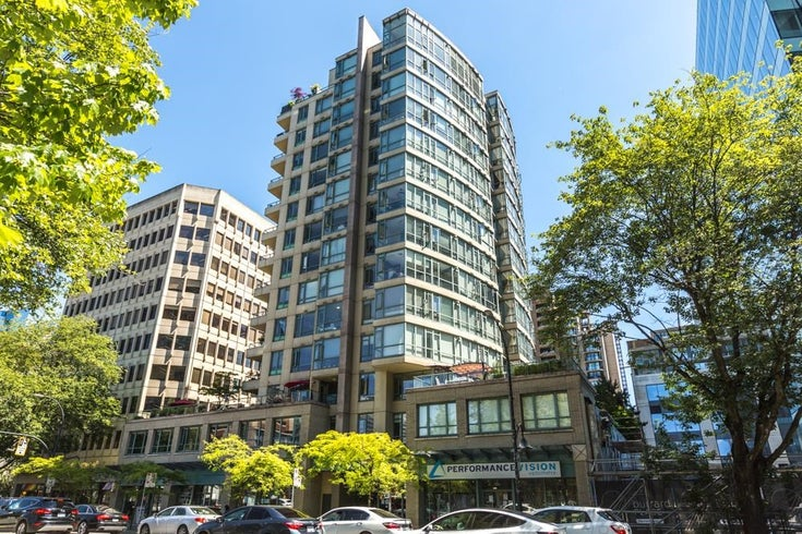 401 1238 BURRARD STREET - Downtown VW Apartment/Condo for sale, 1 Bedroom (R2595185)