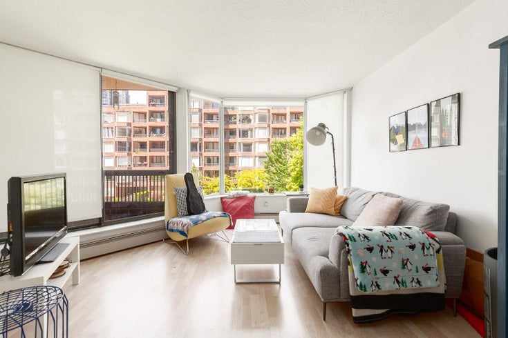 418 1333 HORNBY STREET - Downtown VW Apartment/Condo for sale, 1 Bedroom (R2595365)