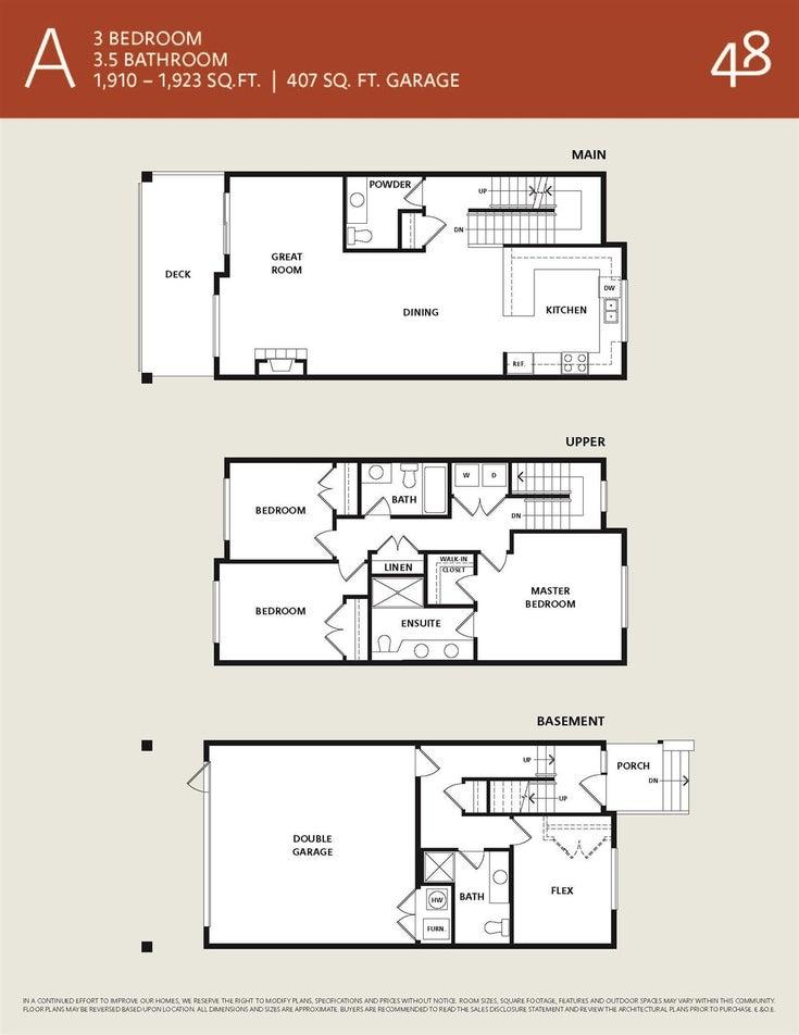 5 22334 48 AVENUE - Murrayville Townhouse for sale, 3 Bedrooms (R2595425)