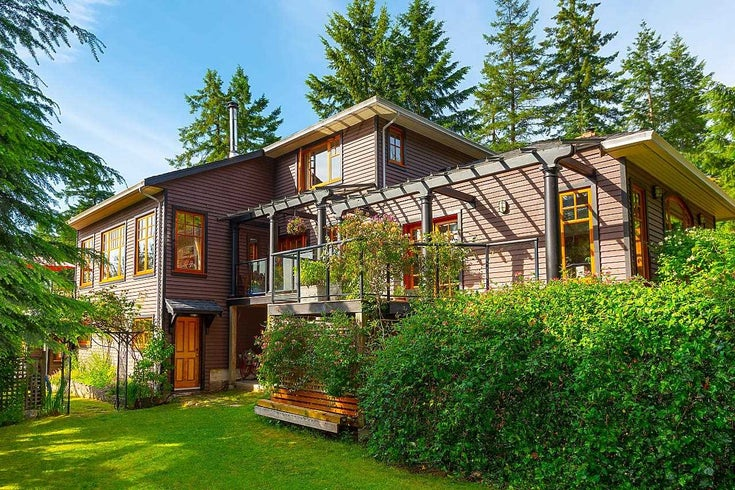 1486 CROMIE ROAD - Bowen Island House/Single Family for sale, 5 Bedrooms (R2595611)