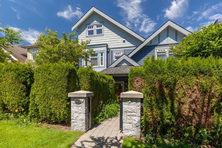 4463 W 9TH AVENUE - Point Grey Townhouse for sale, 3 Bedrooms (R2595696)
