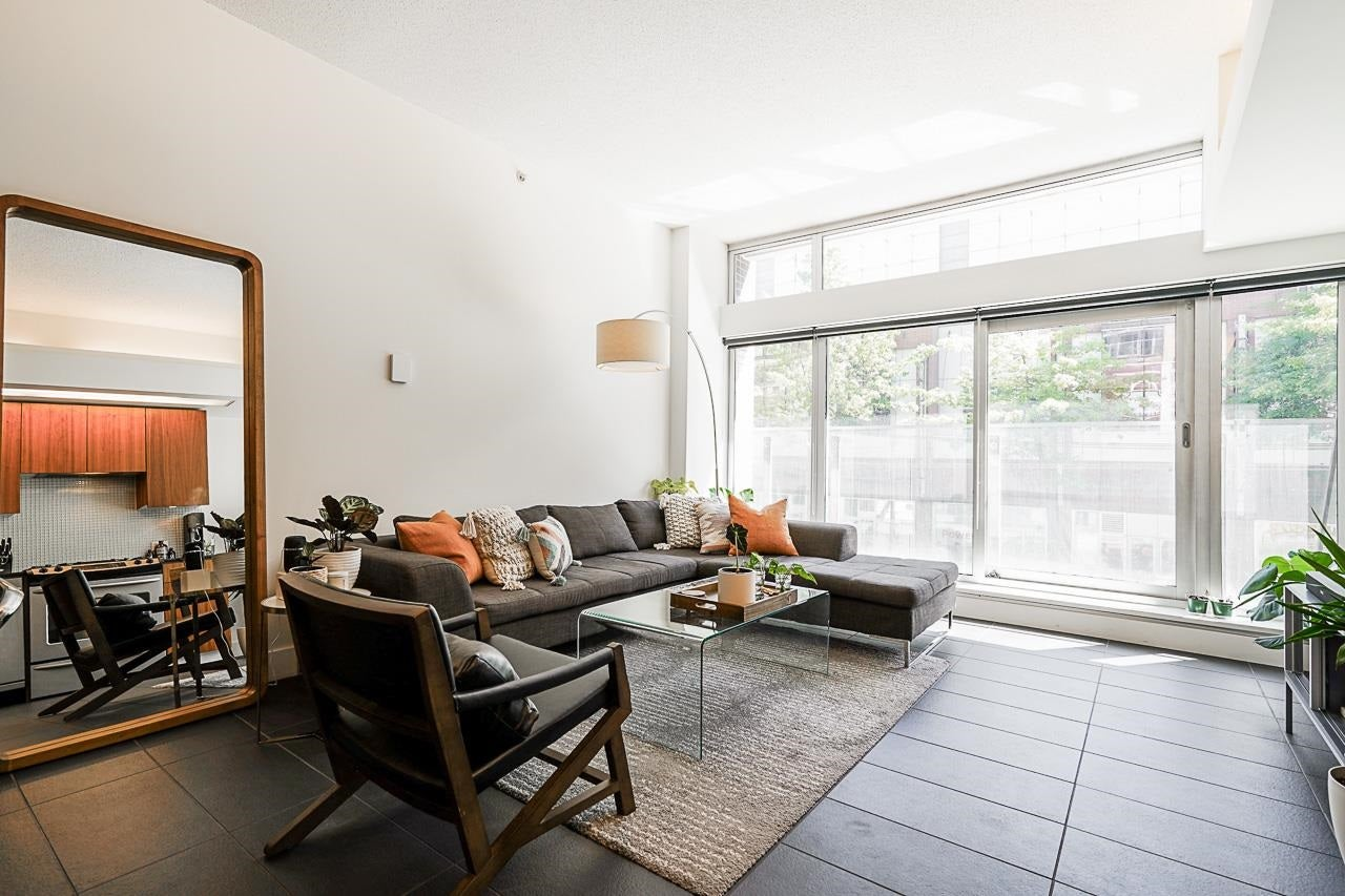 208 33 W PENDER STREET - Downtown VW Apartment/Condo for sale, 1 Bedroom (R2595754)