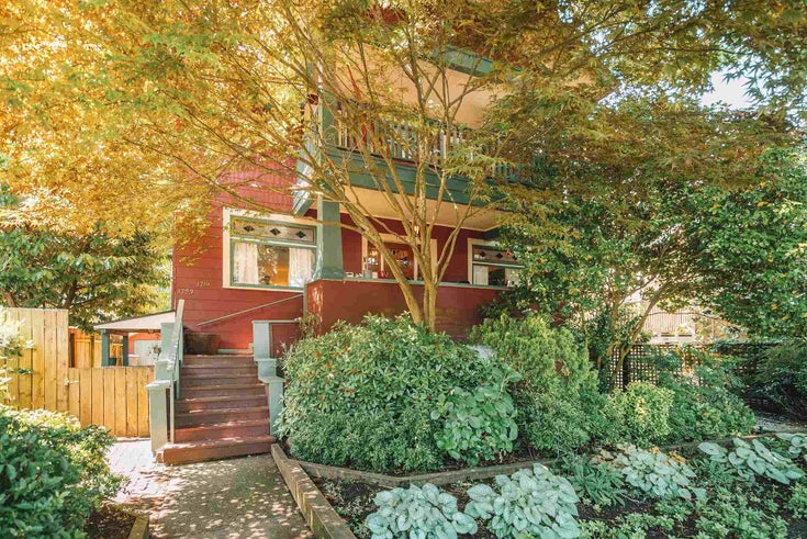 1719 COLLINGWOOD STREET - Kitsilano House/Single Family for sale, 5 Bedrooms (R2595778)