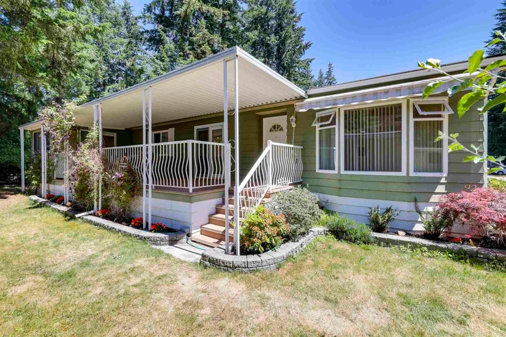 92 20071 24TH AVENUE - Brookswood Langley Manufactured for sale, 2 Bedrooms (R2595896)