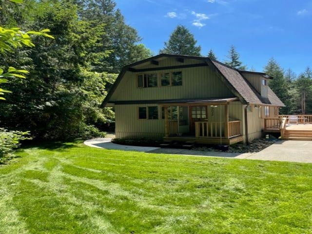 2617 SUNSHINE COAST HIGHWAY - Roberts Creek House with Acreage for sale, 2 Bedrooms (R2595983)