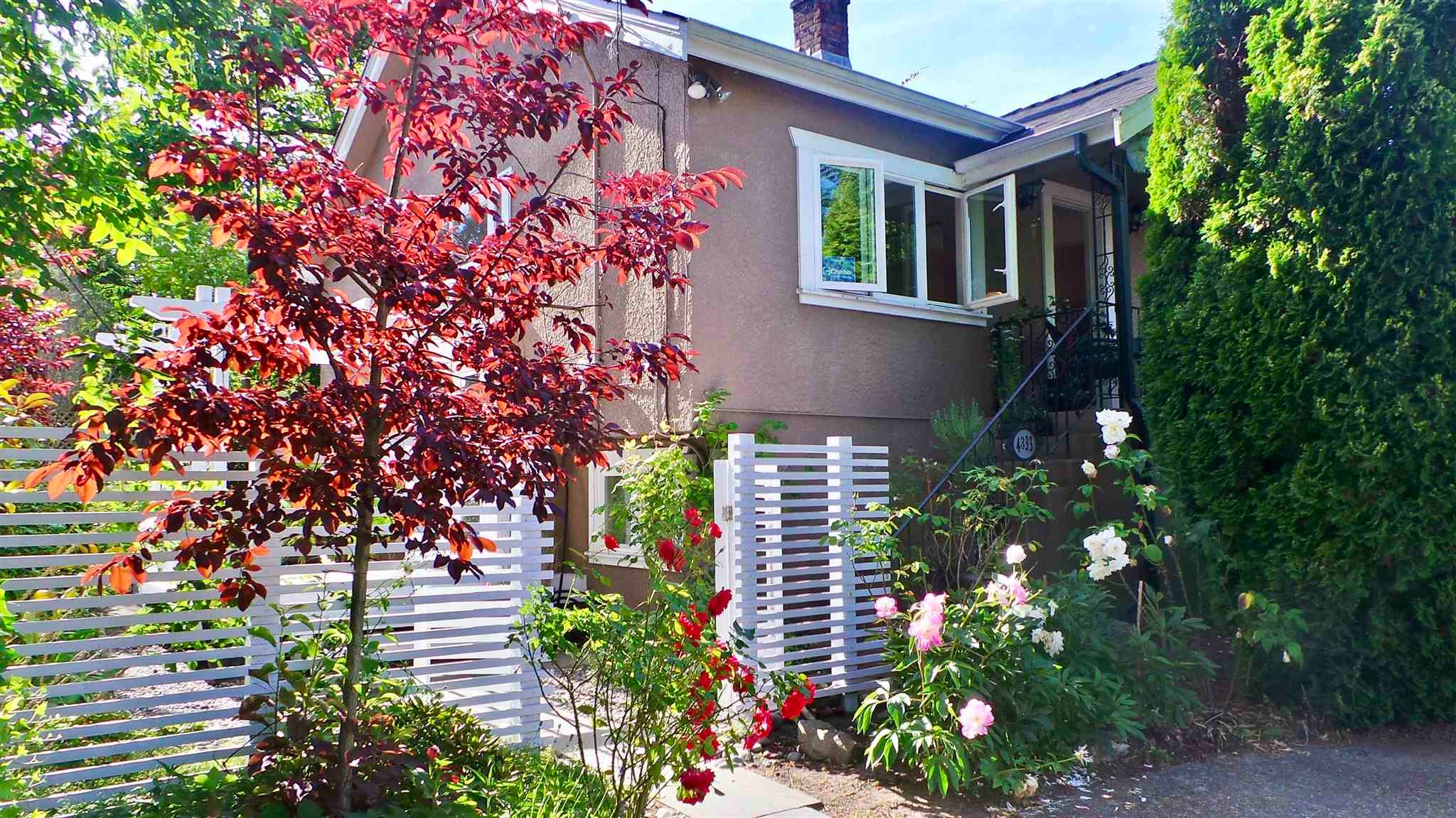 4333 QUEBEC STREET - Main House/Single Family for sale, 3 Bedrooms (R2596063)