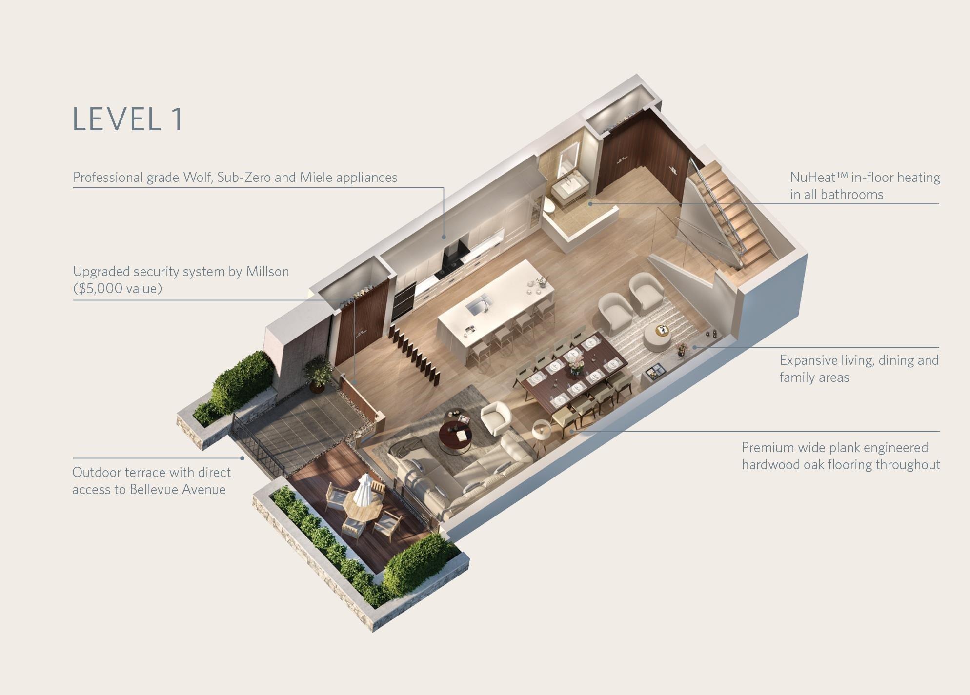 TH102 1327 BELLEVUE AVENUE - Ambleside Townhouse for sale, 2 Bedrooms (R2596338) - #37