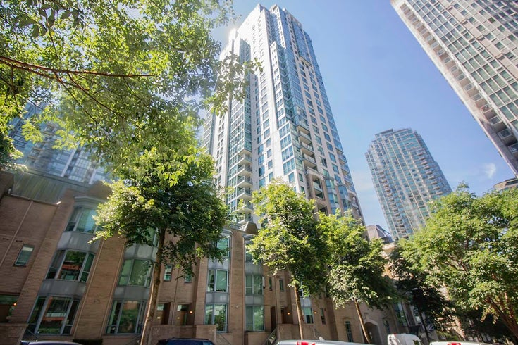 607 1238 MELVILLE STREET - Coal Harbour Apartment/Condo for sale, 1 Bedroom (R2596832)