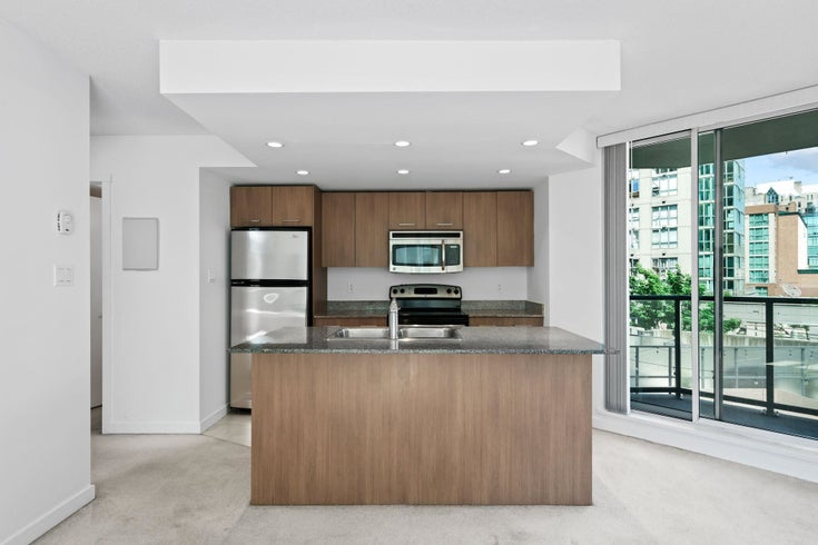 410 1212 HOWE STREET - Downtown VW Apartment/Condo for sale, 1 Bedroom (R2597014)
